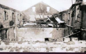 St. Vincent Brewery after fire