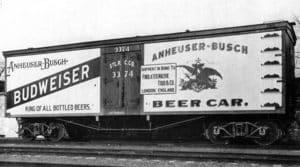 Anheuser Busch Train Car
