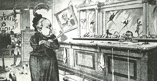 1901-CarryNation_cartoon_Globe-610x315