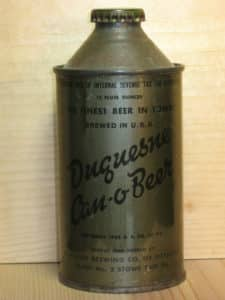 Duquesne screw top can